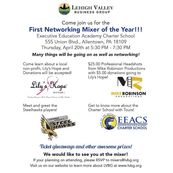 April2017mixer Lehigh Valley Business Group